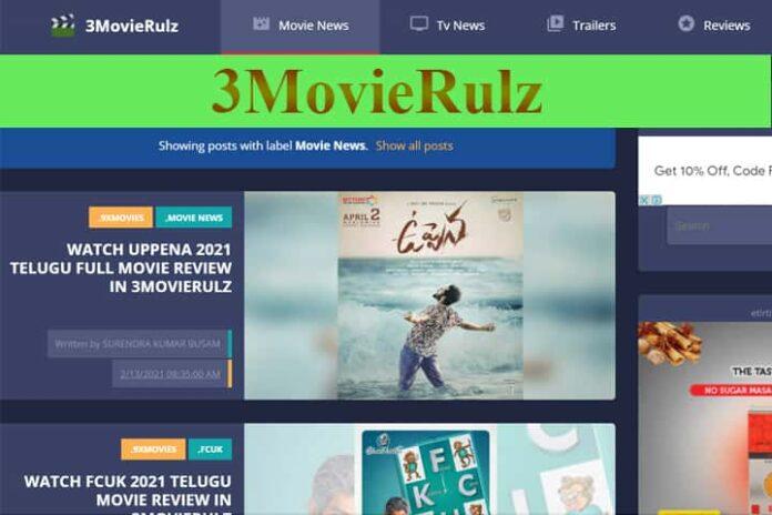 3Movierulz or Movierulz3